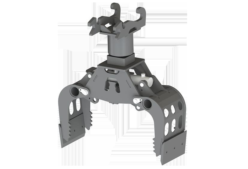 Sorteergrijper XL25 rotator